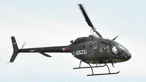 Helikopter Oružanih snaga BiH u akciji potrage za nestalim avionom