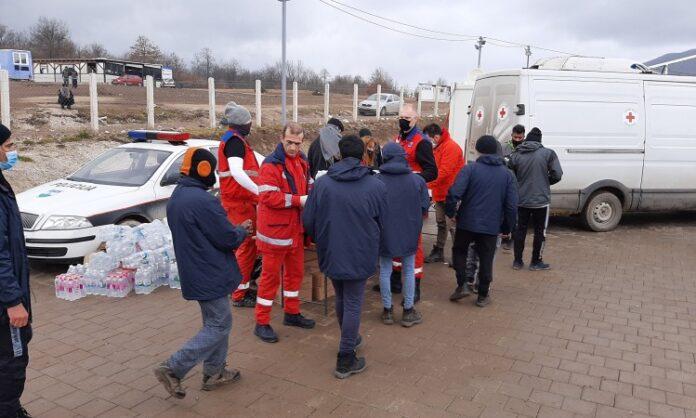 """Humanitarne organizacije pozivaju vlasti u BiH da hitno riješe pitanje smještaja migranata iz """"Lipe"""""""