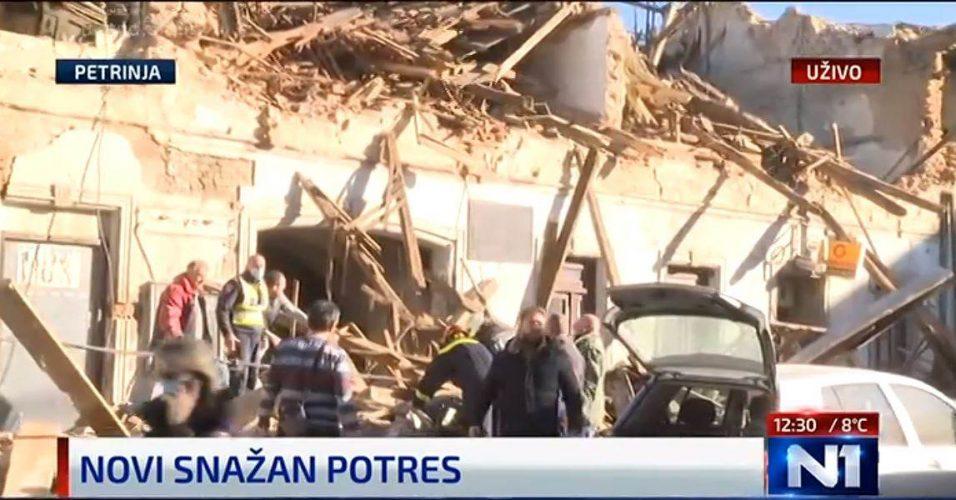 U zemljotresu u Petrinji poginulo dijete