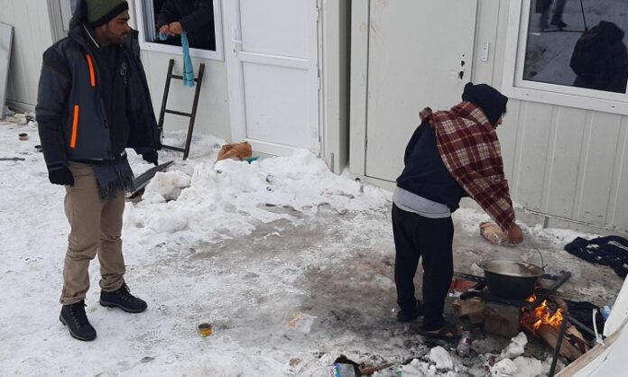 Prihvatljiviji uslovi u Lipi kod Bihaća, nema više ljudi pod otvorenim nebom
