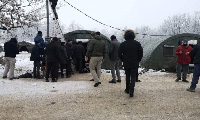 Cikotić ponovo obišao kamp Lipa, stvaraju se uslovi za boravak migranata u kampu
