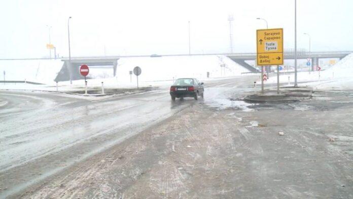 Na Šićkoj petlji obustavljen saobraćaj zbog saobraćajne nezgode