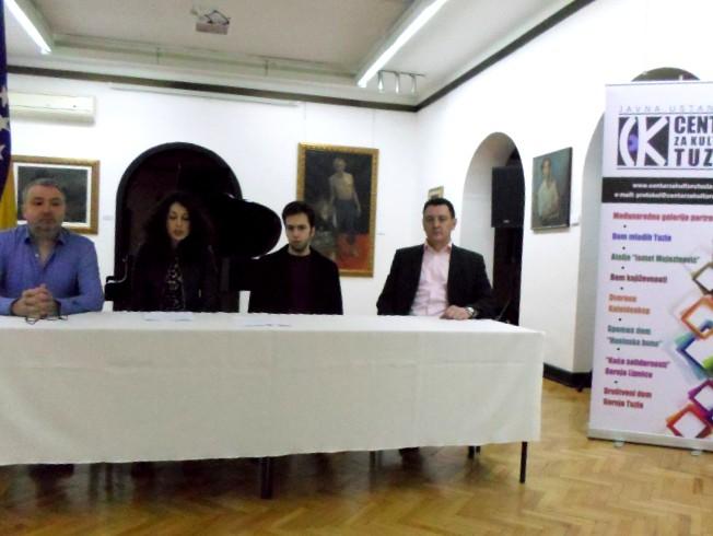 Koncert Damira Durmanovića za Dan nezavisnosti BiH u Međunarodnoj galeriji portreta