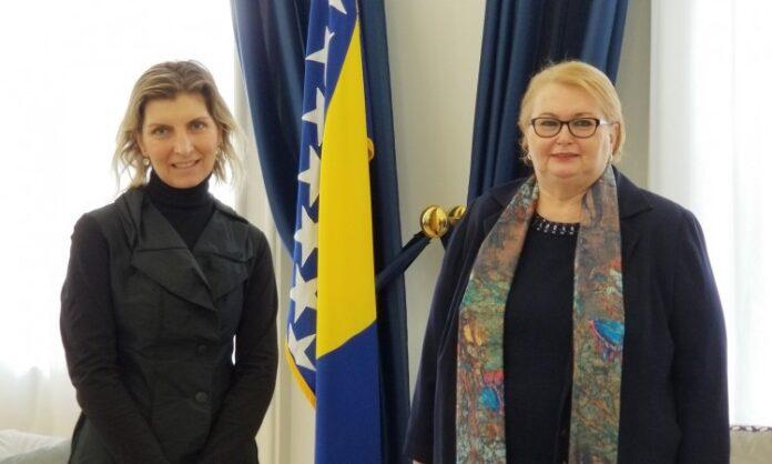 Turković razgovarala sa šeficom IOM-a o migrantskoj krizi