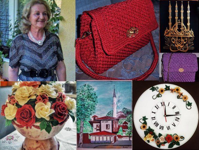 Fadila Peštelić penzionerske dane ispunjava ručnim radovima