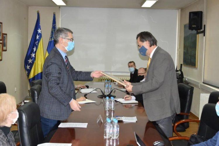 Delegacija Vlade TK  predvođena premijerom  Hodžićem u posjeti Gradskoj upravi Grada Tuzle