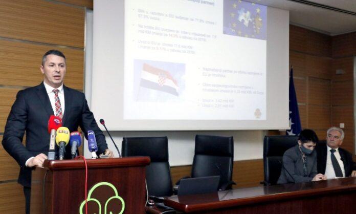 Vuković: Bh. izvoz od kraja 2020. se oporavlja, ali i dalje otežan transport