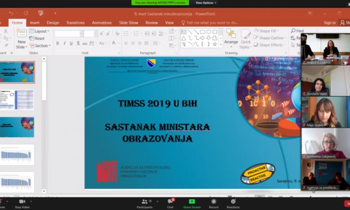 Ministri obrazovanja u BiH razgovarali o rezultatima istraživanja PISA i TIMSS