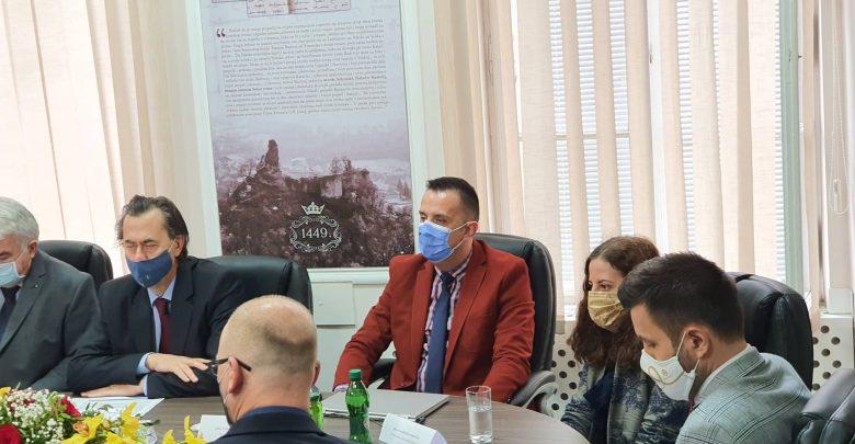 Delegacija Vlade Tuzlanskog kantona u posjeti Gračanici