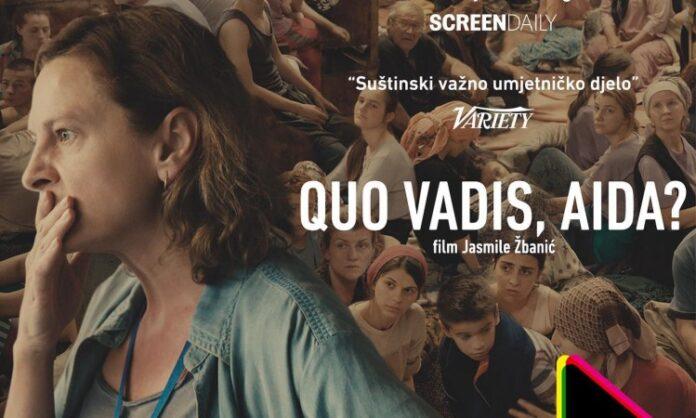 """""""Quo Vadis, Aida?"""" osvojio nagradu publike Vilnius film festivalu"""