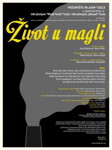 """U Pozorištu mladih Tuzla izvedena premijera predstave """"Život u magli"""""""