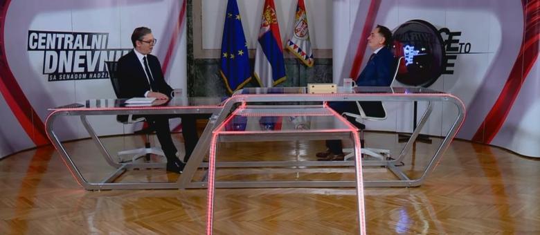 Vučić: Dijeljenje BiH se neće dogoditi, Srbiji nije potrebana teritorija BiH