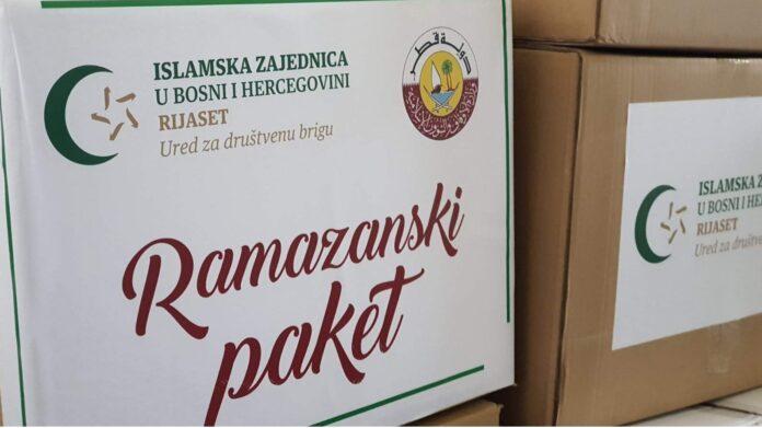 Islamska zajednica: Tokom ramazana udijeljeno više od milion KM pomoći