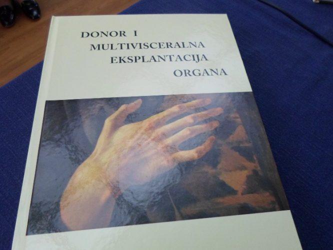 """Promovisana knjiga """"Donor i multiviscelarna eksplantacija organa"""" autora prof. dr. Zijaha Rifatbegovića"""