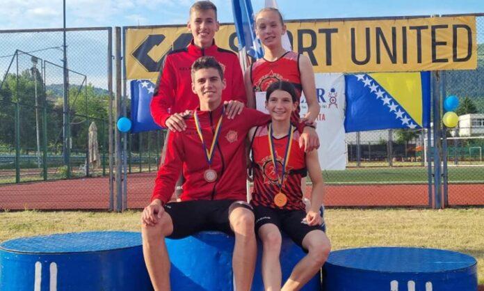 Odličan početak atletske sezone za seniore i juniore AK 'Sloboda Tehnograd'