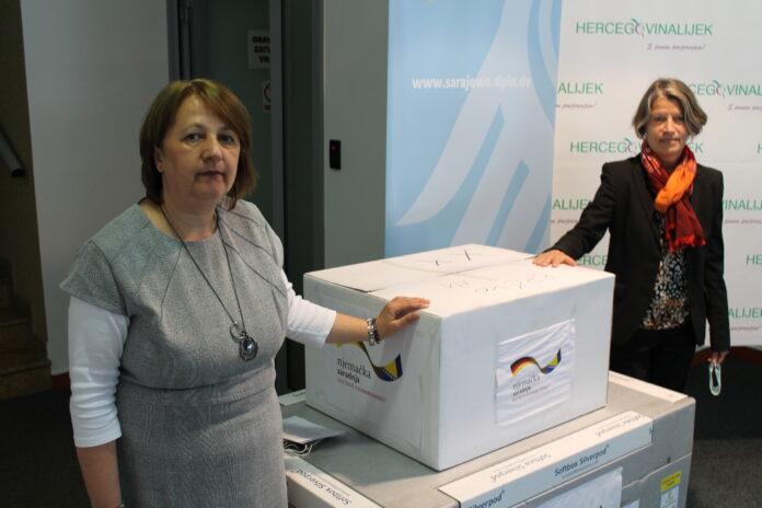 Njemačka donirala brze testove na koronavirus ukupne vrijednosti od 151.000 EUR