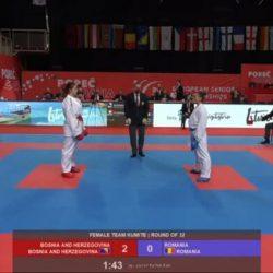 Sedmo mjesto na Evropskom prvenstu za Stefani Krešić i ekipu reprezentacije BiH