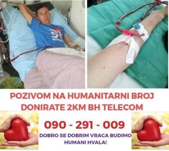 Apel za pomoć Admiru Salkiću, potrebna sredstva za transplantaciju bubrega u inostranstvu