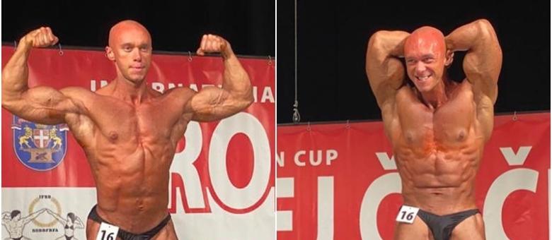 Član Body Control tima iz Tuzle Belmin Bujaković osvojio srebrnu medalju na takmičenju u bodybuildingu u Čačku