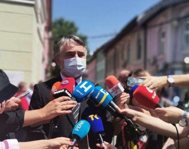 Komšić: Politički vrh Srbije nije sazreo za bilo kakvu vrstu moralnog ozdravljenja