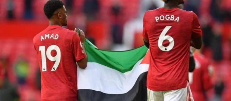 Paul Pogba Old Traffordom marširao sa zastavom Palestine