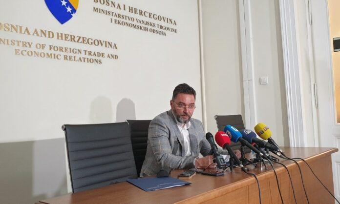 Košarac: Neprihvatljiva odluka hrvatskih vlasti o graničnim prijelazima sa BiH