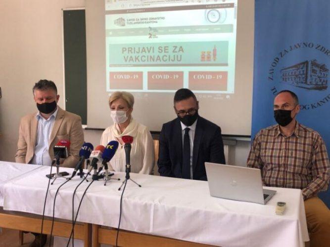 Aktivirana web platforma za prijavu zainteresovanih za vakcinaciju