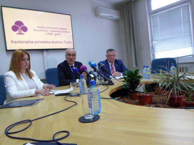 Analiza privrednih kretanja na području Tuzlanskog kantona u 2020. godini