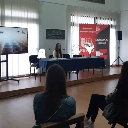 Omladinski pokret Revolt: Riješiti probleme na bh. univerzitetima!