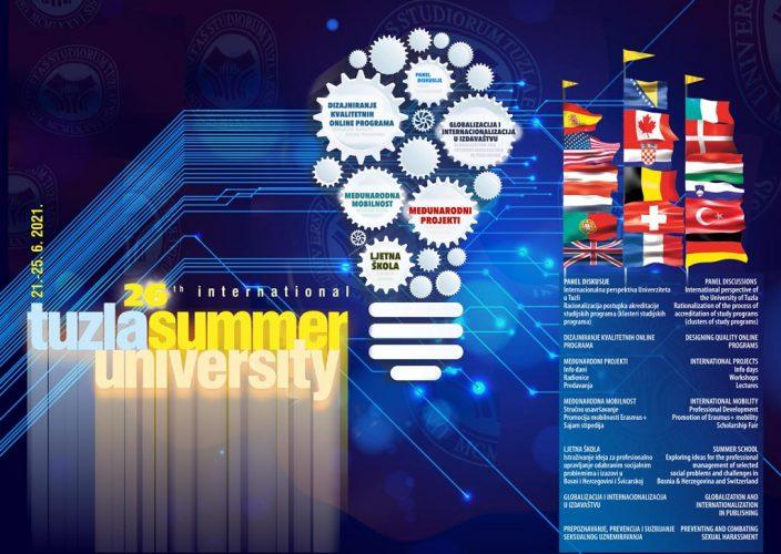Ljetni Univerzitet u Tuzli od 21.06. do 25.06.