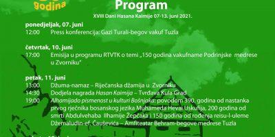 Dani Hasana Kaimije od 07.06.-13.06. u Zvorniku