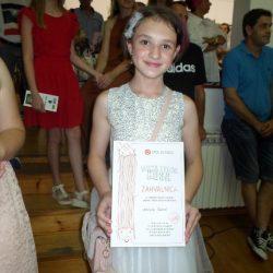 """U Ateljeu """"Ismet Mujezinović"""" otvorena izložba """"Boje ljubavi"""", 11-godišnje Amine Šehić"""