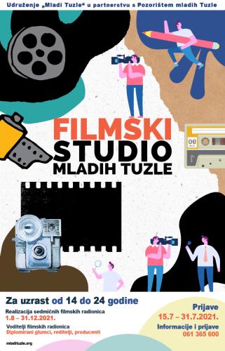 Upis u Filmski studio Mladih Tuzle od 15.7-31.7.2021.