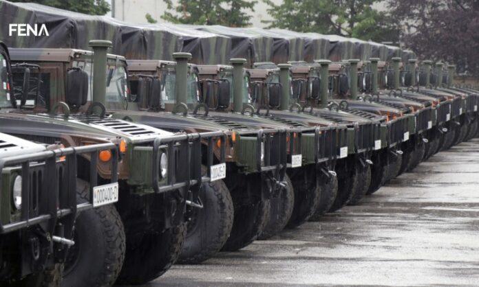Oružane snage BiH dobile od SAD-a 21 višenamjensko vozilo