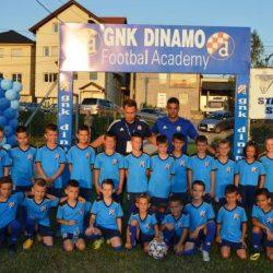 Nogometni kamp GNK Dinamo okupio preko 100 djece Tuzlanskog kantona