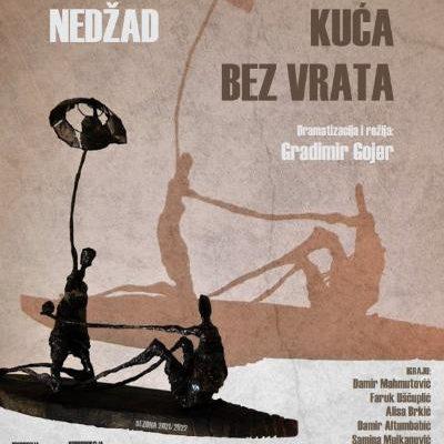 """Premijera predstave """"Kuća bez vrata"""" u BKC Tuzla 24- septembra 2021"""