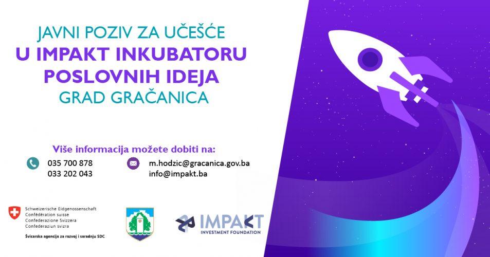 Gračanica: Javni poziv za učešće u impakt inkubatoru poslovnih ideja