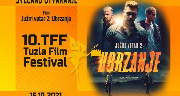"Deseti Tuzla Film Festival otvorit će film ""Južni vetar"""